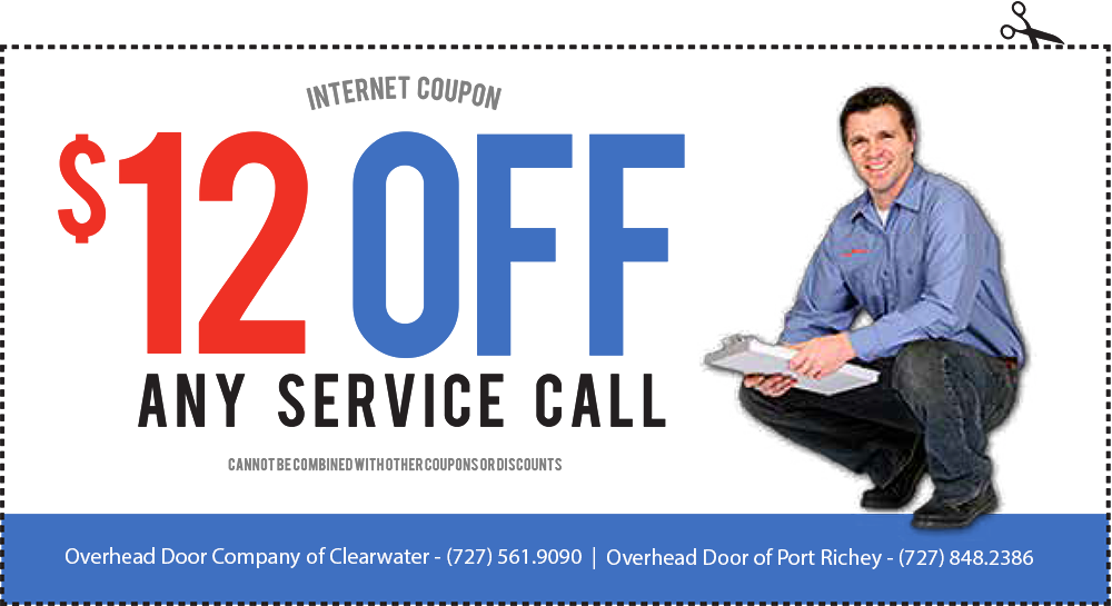 $12 OFF ANY service call